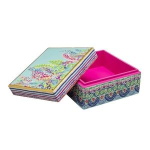 Lilly Pulitzer Catch the Wave Lacquer Box